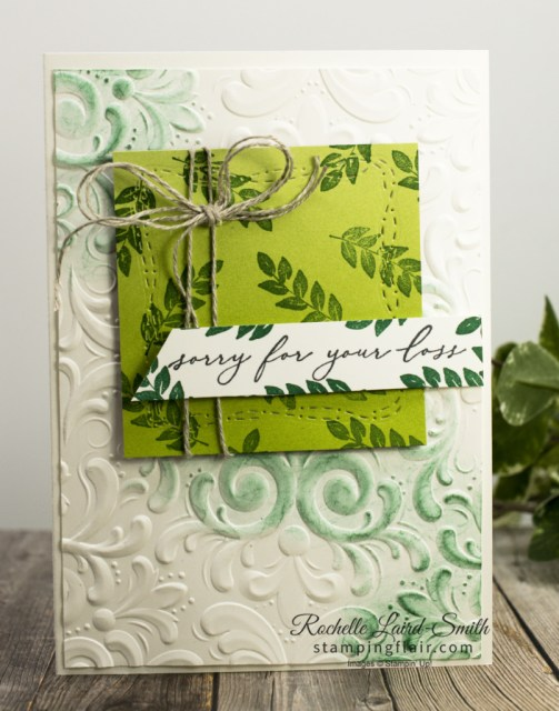 Countdown to End of Sale-A-Bration Day 1, Oh So Ombre DSP, Stampin' Up! SU, Corner Bouquet Stamp set