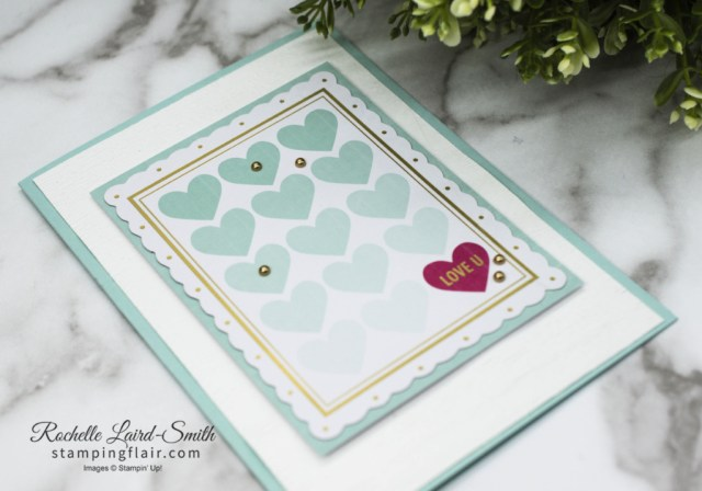 Sweet Little Valentines Card, Stampin' Up!, SU, Hearts, card kit