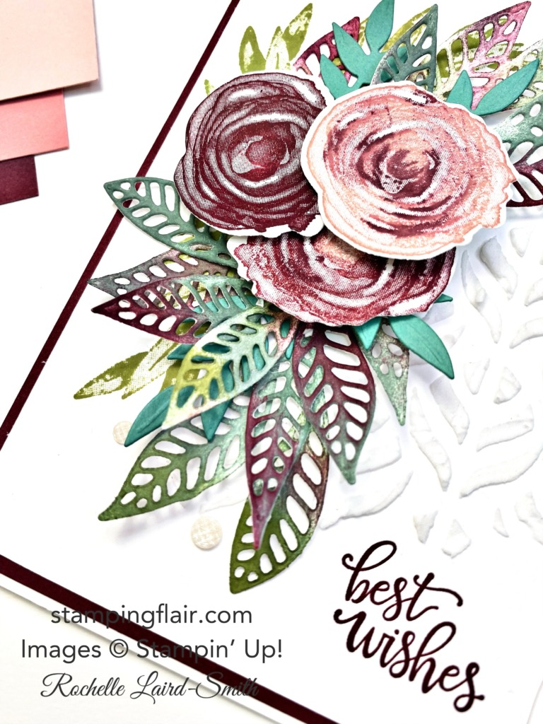 Stampers Showcase Blog Hop, Artistically Inked Bundle, Expressions in Ink, Vintage card, Stampin' Up!, SU, Stamping Flair, Rochelle Laird-Smith, Decorative Masks