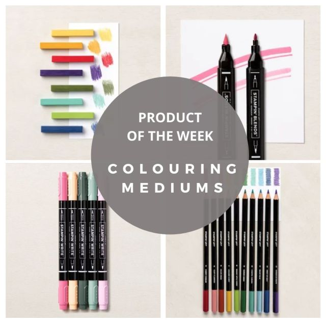 Product of the Week Colouring mediums