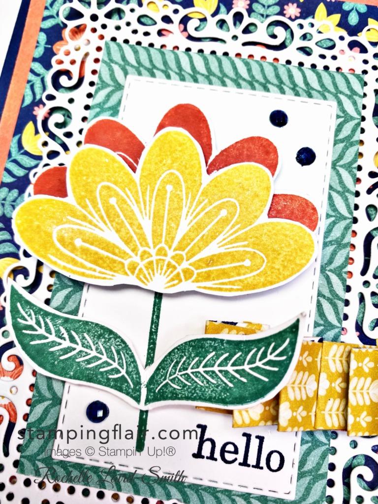 New at SU Blog Hop, July 2021, Designer Series Paper, DSP, Folk Art, floral, Stampin' Up!, SU, Sweet Symmetry, In Symmetry