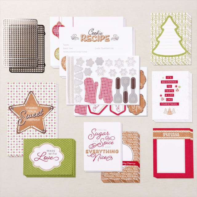 Gingerbread & Peppermint Suite, Memories & More Cards