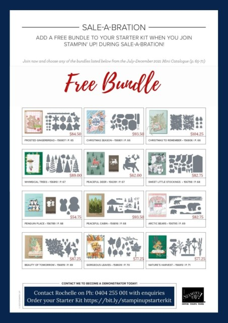 2021 SAB 2 Join Promotion, Stampin' Up!