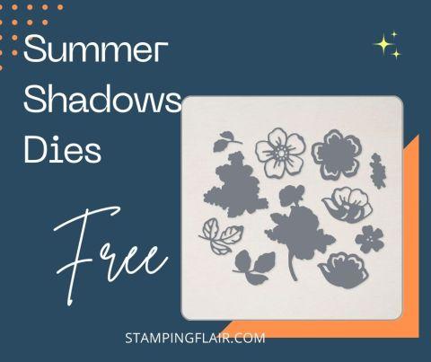 Sale-A-Bration 2021 Summer Shadows Dies