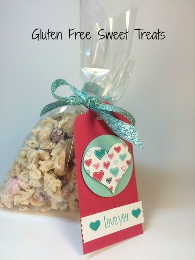 StampinUp Gluten Free Sweet Treats- you can find the recipe on my blog www.Stampingmom.com/... Stampin' Up! demo Beth McCullough #StampingMom
