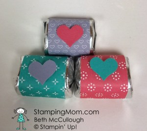StampinUp Valentine 3 Nugget Box designed by demo Beth McCullough.  Please see more card and gift ideas at www.StampingMom.com #StampingMom.com