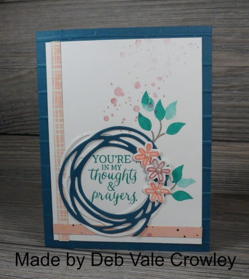 StampinUp Swirly Bird card made by demo Deb Vale Crowley.