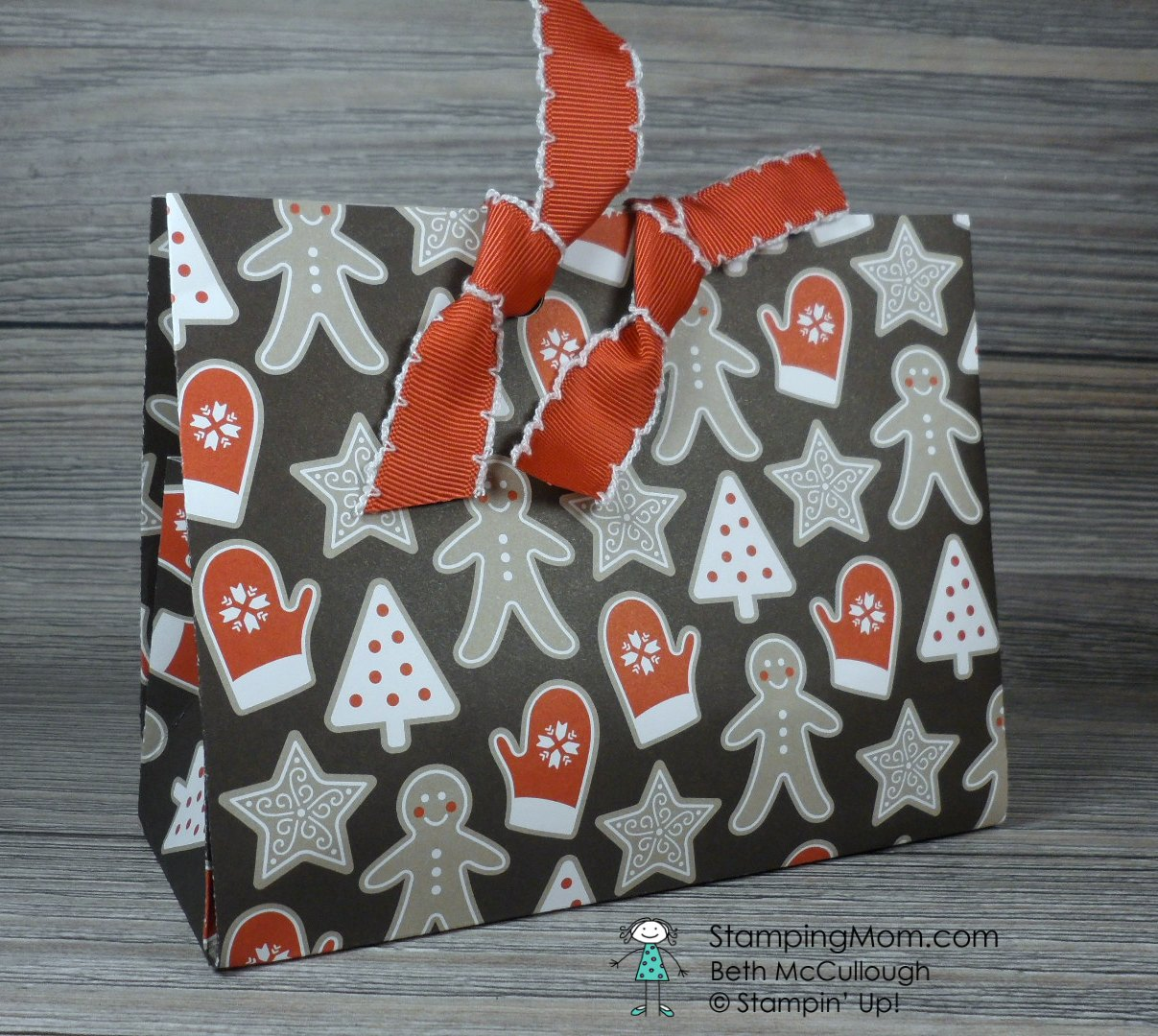Party Animal Gift Bag Stamping Mom