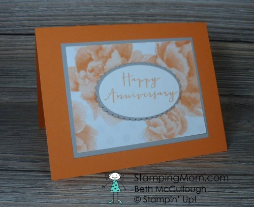 Stampin Up Free Card Kits made with the retired DSP- Watercolor Wonder, designed by demo Beth McCullough. Please see how to get the free kit and more card and gift ideas at www.StampingMom.com #StampingMom #cute&simple4u