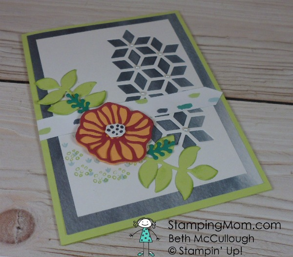 Stampin Up Naturally Eclectic All Occasion Card designed by demo Beth McCullough. Please see more card and gift ideas at www.StampingMom.com #StampingMom #cute&simple4u