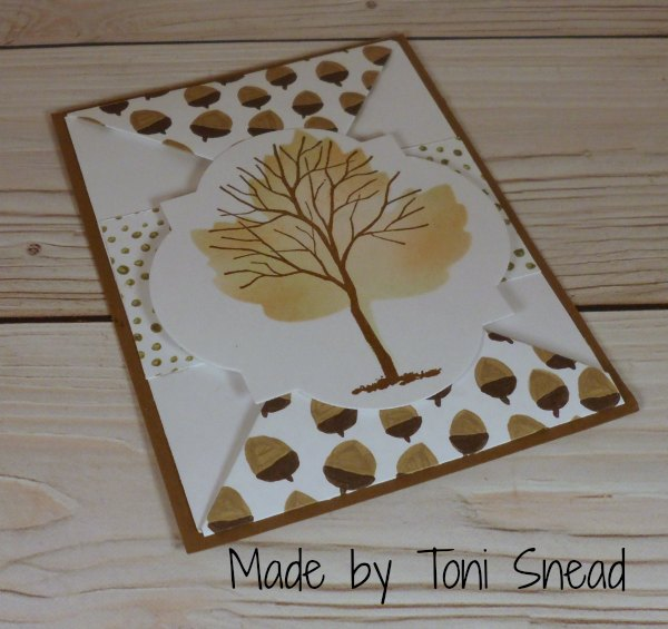 Stampin Up card made by Toni Snead. Please see more card and gift ideas at www.StampingMom.com #StampingMom #cute&simple4u