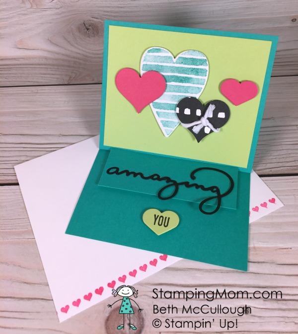 Party Pandas Birthday Card Stamping Mom