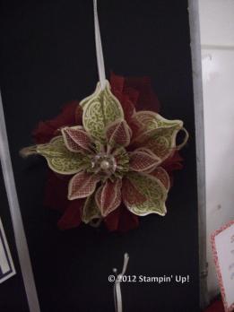 Christmas Cover Ornament WM