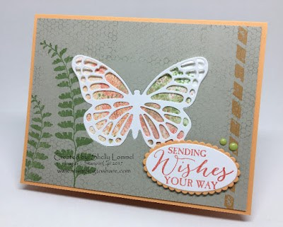 Stampin' Up! Butterfly Basics, Creative Crafters Stamping to Share