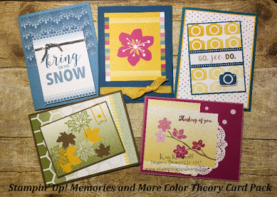 #11 Fab Friday FB Live Stamp and Chat with the Color Theory Memories and More Card Pack