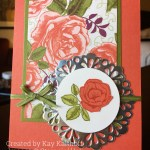 An easy, elegant card with Stampin