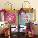 Stamping to Share Spring Fling 2018 Project Bags, Product Gifts, Lunch Treats and Name Tags