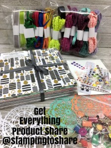 Stamping to Share Get Everything Bundle Product Share created by Kay Kalthoff