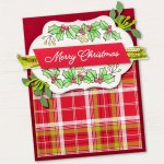 Blended SEason Bundle Christmas Card created by Stampin