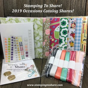 2019 Occasions Catalog Shares with Kay at Stamping to Share