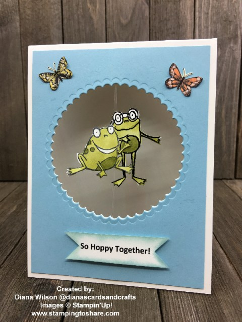 So Hoppy Together Demo Meeting Swap created by Diana Wilson for #stampingtoshare