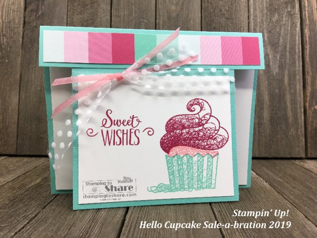 Hello Cupcake created by Kay Kalthoff for Demo Meeting Swap #stampingtoshare