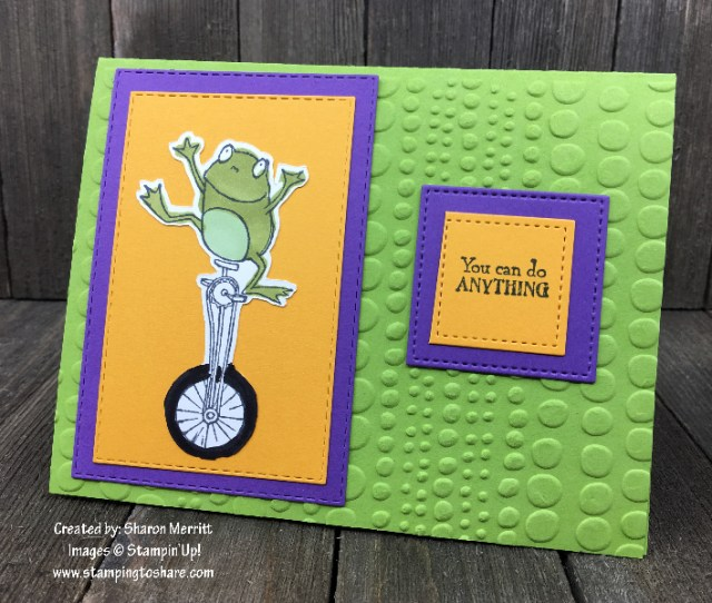 So Hoppy Together created by Sharon Merritt for Demo Meeting Swap #stampingtoshare
