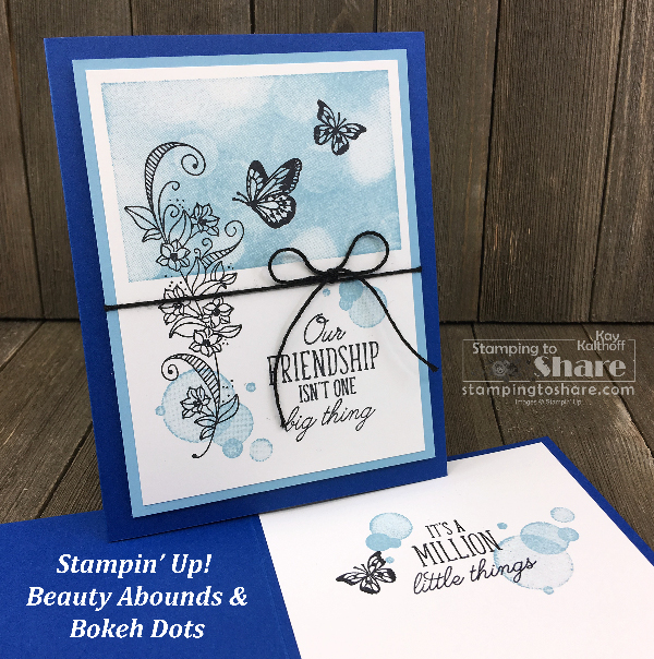 Two Cards with Stampin' Up! Beauty Abounds