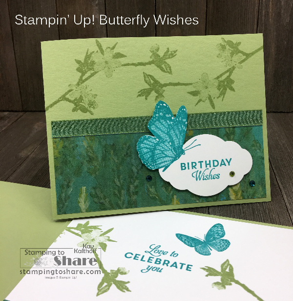 Stampin' Up! Butterfly Wishes