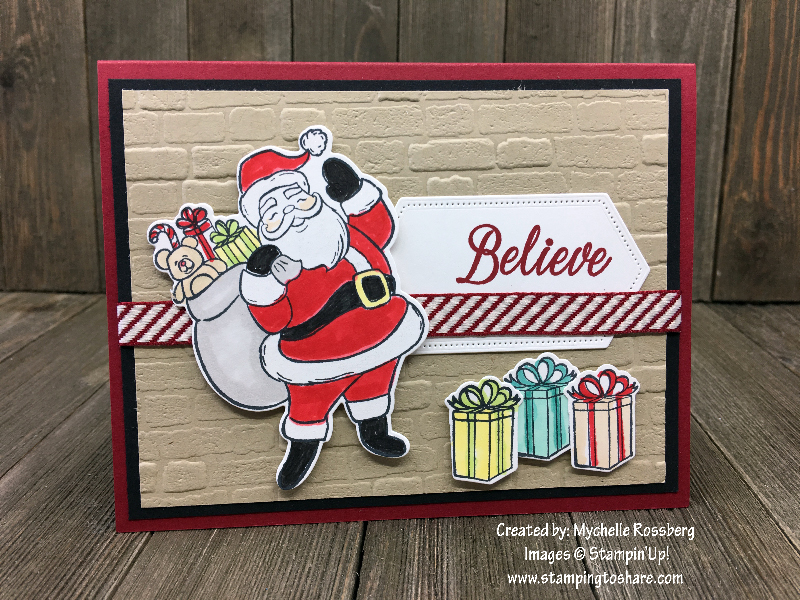 Stampin' Up! Holly Jolly Christmas by Mychelle Rossberg