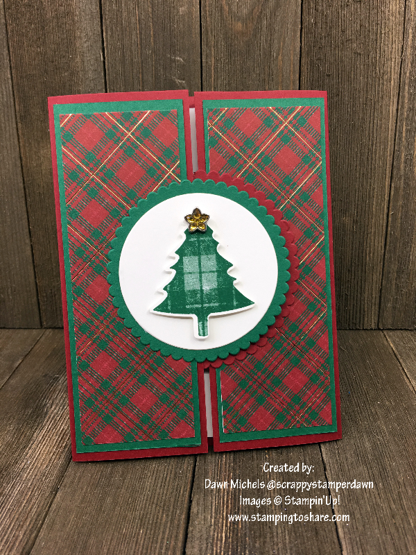 Stampin' Up! Perfectly Plaid Bundle by Dawn Michels