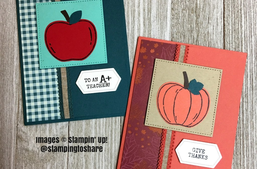Stampin' Up! Harvest Hellos Bundle