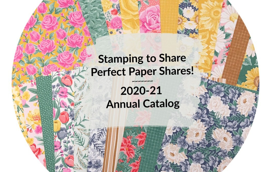 Stamping to Share Perfect Paper Shares – Available through June 30th Only