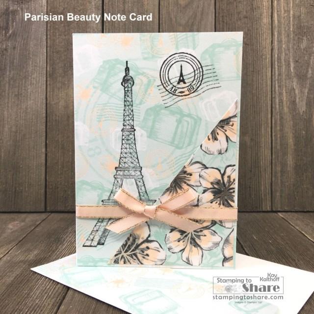 Blossom Beauty Summer 2017 Edition Medium 3-D Fashion Greeting Card