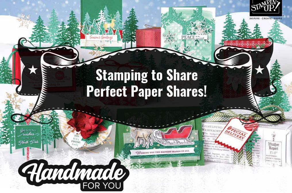 Stampin' Up! August – December 2020 Mini Catalog Perfect Paper Shares!