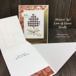 Diagonal Fun Fold Card with Stampin