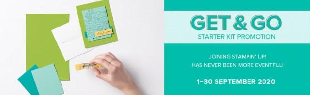 Get and Go Stampin' Up! Starter Kit Promotion for September 2020