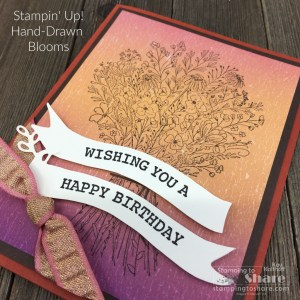 Fall Birthday Cards with Hand-Drawn Blooms