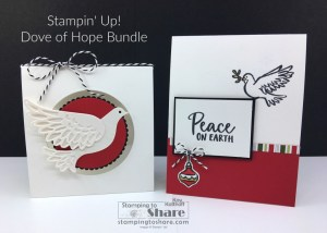 Dove of Hope Bundle for Christmas Gift Cards