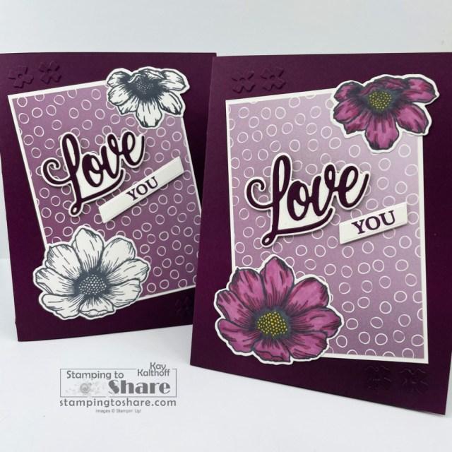 Stampin' Up! Forever & Always Bundle for Love Cards.