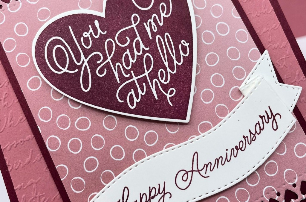 Always in My Heart Bundle for Anniversary Cards