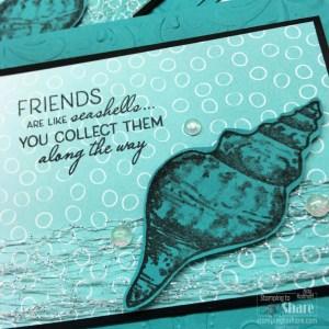 Friends are Like Seashells Bundle with Parisian Flourish 3D Folder