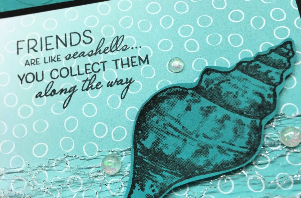 Friends are Like Seashells Bundle with Parisian Flourish 3D Folder