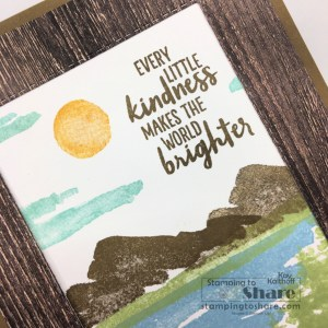 Stampin' Up! Waterfront Scenic Card