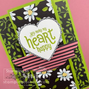 Fun Fold Card with the Punch Party Host Set