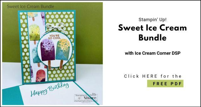 FREE PDF for Sweet Ice Cream Bundle