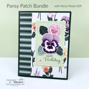Pansy Patch Bundle with Pansy Petals DSP
