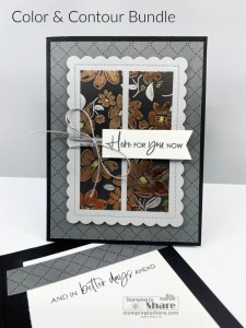 Color & Contour Bundle with Simply Elegant Specialty Paper