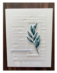 Forever Fern – Sweet and Simple Card