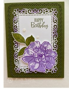 To A Wild Rose Stamp Set with Ornate Dies